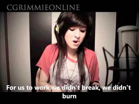 I Won't Give Up(JasonMraz) - Christina Grimmie - Lyrics - MP3 download link