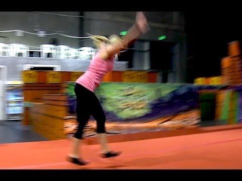 Learning Free Running - Ninja Warrior Training - Day 4 Part 1