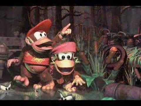 Donkey Kong Country 2 - Web Woods Video