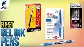10 Best Gel Ink Pens 2018