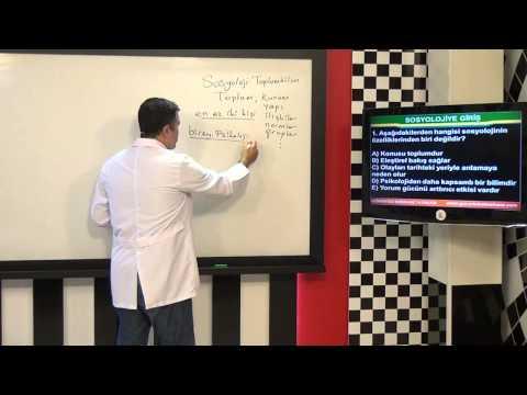 AÖF Sosyolojiye Giriş Eğitim Seti
