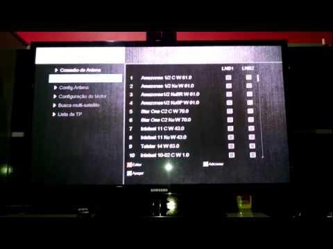 Atualização e Configuração do Duosat Troy HD