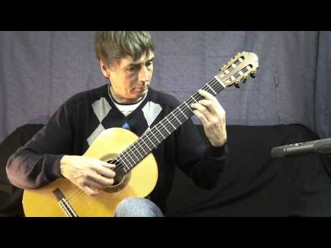 Loch Lomond - classical guitar - Andreas Lindae