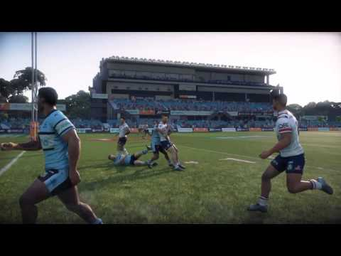 Rugby League Live 3 - Roosters Career (Round 13)