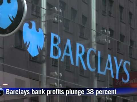 Barclays bank profits slide 38%, flags job cuts