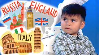 Niño prodigio: sabe de todo y sólo tiene tres años, Guido quedó atónito