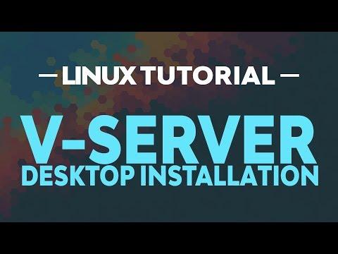 LINUX TUTORIAL - V-Server Ubuntu Desktop installieren [FHD/GER]