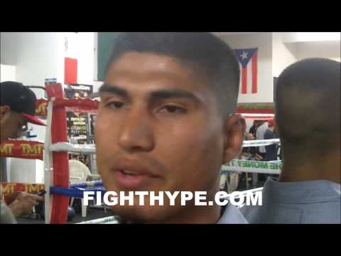 MIKEY GARCIA DISCUSSES TOP RANK LAWSUIT AND YURIORKIS GAMBOA FALLOUT IM WORTH MORE THAN THAT