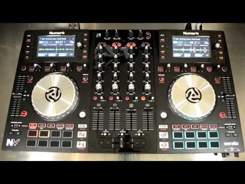 Numark NV Dual-Screen Serato DJ Controller Demo & Review Video