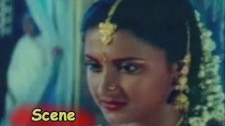 Rachana Funny Scene    Rayudu Telugu Movie     Mohan Babu, Prathyusha, Soundarya