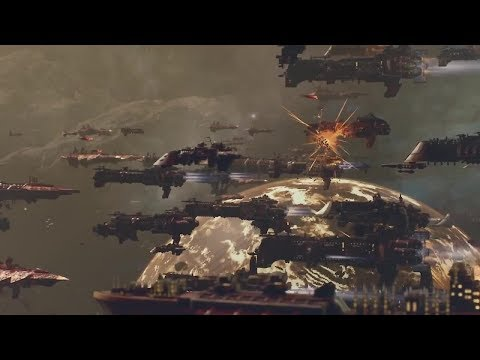 BATTLEFLEET GOTHIC ARMADA 2 - Upcoming Scifi RTS War Game New Cinematic Trailers  2019