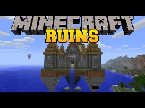 Minecraft Mod Showcase - Ruins Mod - Randomly Generated Structures - Mod Review