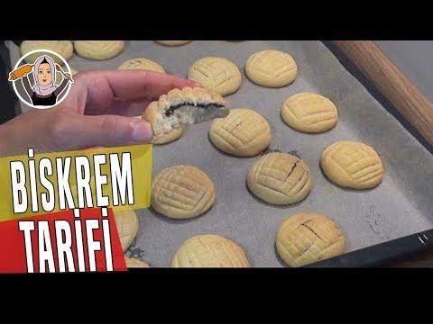 Çikolata Dolgulu (Biskrem) Kurabiye Tarifi Videosu - Kurabiye Tarifleri