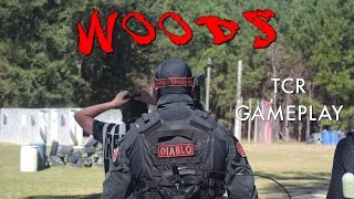 DIABLO - WOODS - Tippmann Tcr Gameplay - Magfed Paintball