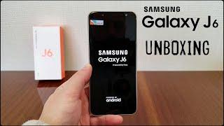 Unboxing (Desempaquetado), en Español, SAMSUNG GALAXY J6 2018