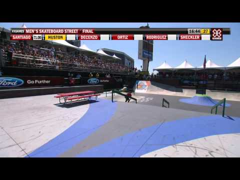 X Games Los Angeles 2012: Nyjah Huston Grabs Bronze