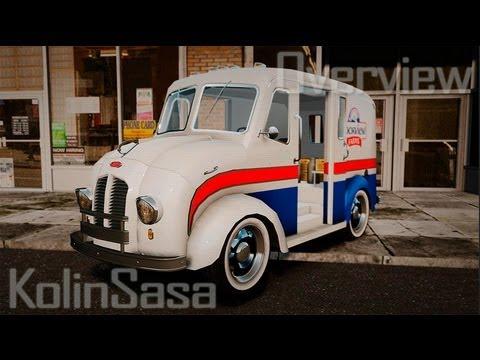 Ford Divco Milk and Icecream Van 1955-56