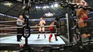 WWE Elimination Chamber 2010 -RAW- 2/5