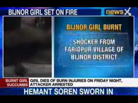 Newsx: 16 Year Girl Raped And Burnt video