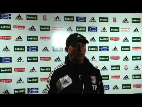 Stoke City boss Tony Pulis pre-match interview: Liverpool away 1