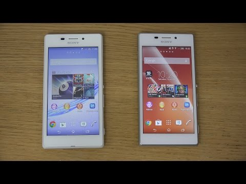 Sony Xperia M2 Aqua vs. Sony Xperia M2 - Review (4K)