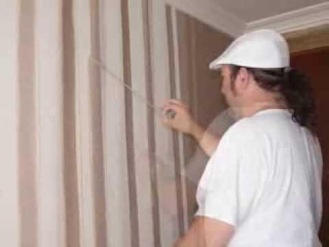Como hacer rayas en la pared pintadas a mano youtube - Como evitar humedades en las paredes ...