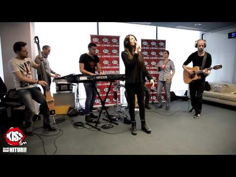 Raluka - Out Of Your Business (Live @ Kiss FM)