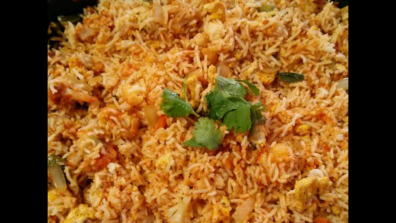 Egg Boiled Rice Egg Fried Rice Recipe