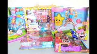 Mega Special Barbie Goodies Unboxing  Part1  Tia Tia