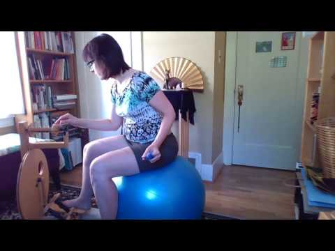 Posture tips for spinning longdraw