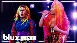 """6ix9ine & Nicki Minaj - """"FEFE"""" (Live at Made In America 18')"""