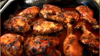 Jerk Chicken !! OVEN BAKED