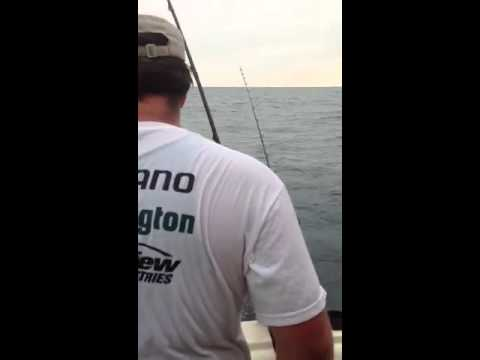 Shankman Fishing Trip 2012- Saugatuck, MI aboard the Black Betty