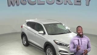 C99184TR Used 2018 Hyundai Tucson SEL AWD SUV Silver Test Drive, Review, For Sale -