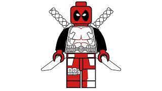 download lagu New How To Draw Lego Deadpool   Marvel gratis
