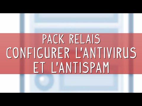 Configurer l'antivirus et l'antispam de messagerie d'un Pack Relais NordNet