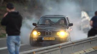 CARFREITAG 2019 NÜRBURGRING TANKSTELLE! - Burnouts, Drift & More!