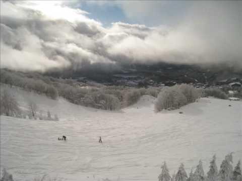 スキー in 蔵王 ZAO 2009.01.02