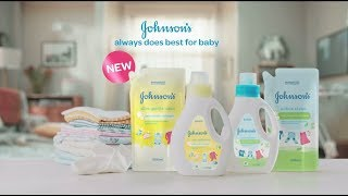 Introducing New JOHNSON'S Baby Laundry Detergent | Best For Baby