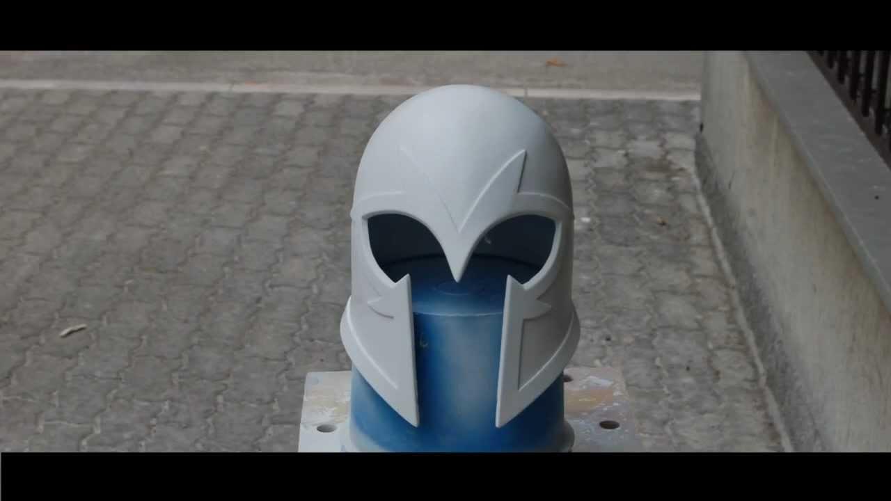 Cardboard Helmet Tutorial Magneto Helmet How to Tutorial