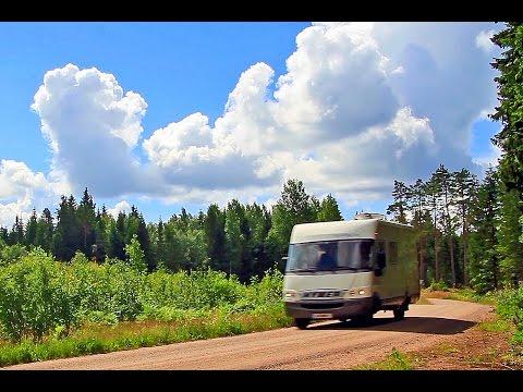 Mit dem Wohnmobil durch Südschweden - Teil 1 - Juni 2016