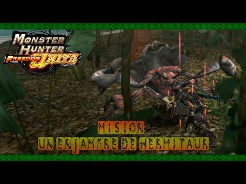 Monster Hunter Freedom Unite - Ep.21 - Un enjambre de Hermitaur