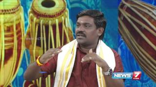 Playback singer Velmurugan at Pongal special Maiyam