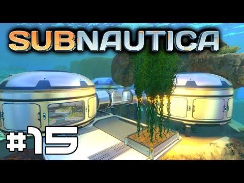 Subnautica (Farming Update) - Bioreactor and Creepvine Farm! #15