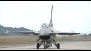 F16 Takeoff - Lima 2011