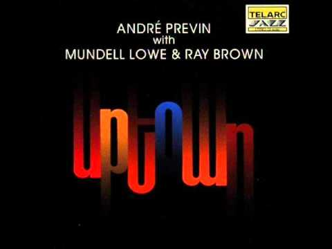 Andre Previn with Mundell Lowe&Ray Brown_C Jam Blues