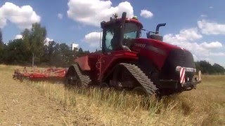 Case IH 620 quadtrac  with Horsch Tiger