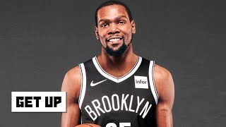 The Nets didn't need a meeting with KD, Kyrie was already recruiting him – Jalen Rose | Get Up