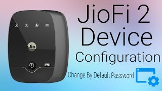 How To Configure JioFi Device in your PC or Laptop