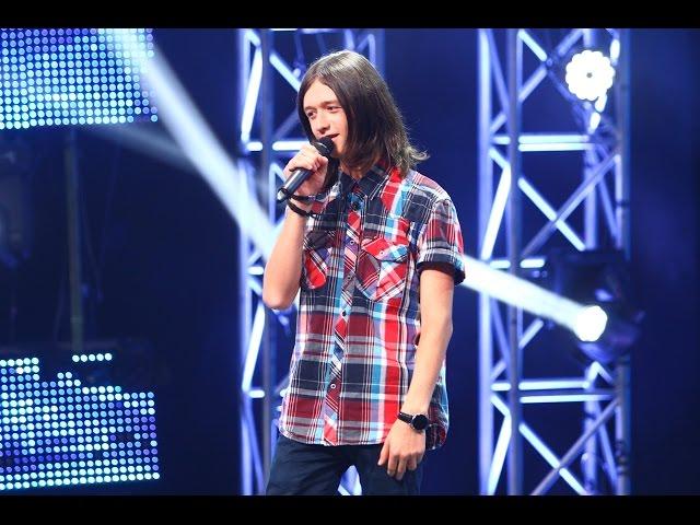 Alex Clare - Damn Your Eyes (Etta James). Vezi aici cum cântă Luca Dragoş la X Factor!
